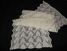 Ravelry: La Dentelle Belle Scarf pattern by Teresa Murphy Lace Knitting Patterns, Knitting Charts, Lace Patterns, Afghan Scarf, Knitted Shawls, Knitted Scarves, Knitting Accessories, Knitting Projects, Knit Crochet