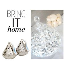 """""""Bring It Home: KISSES Salt & Pepper Shakers"""" by polyvore-editorial ❤ liked on Polyvore featuring interior, interiors, interior design, home, home decor, interior decorating and bringithome"""