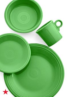 Put away your holiday china until next year, and refresh your everyday dinnerware with this 4-pc set by Fiesta inspired by Pantone's color of the year for 2017! Shop now at Macy's.