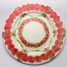 Platzteller Paavo Plates, Tableware, Red, Green, Dishes, Licence Plates, Dinnerware, Griddles