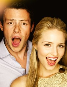 Cory Monteith & Dianna Agron from Glee