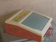 Yup, this rocked, too! [Fisher Price School Days Portable Chalkboard]