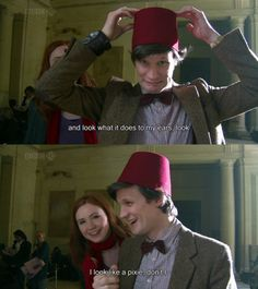 I love Matt Smith! :D He is definitely my favorite Doctor in Current Who. :) I'm going to miss him. Though Capaldi :D he is extraordinary. He will do wonderfully.