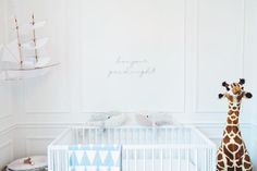 """smpliving on Instagram: """"Classic meets whimsy in this adorable #babyboy's #nursery! #nurseryinspiration 