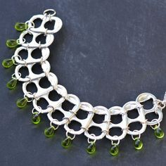 Re-Construction Bead Statement Necklace | AllFreeJewelryMaking.com