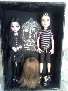 addams family monster high dolls repaint