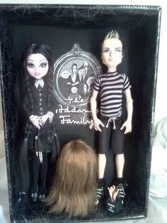 Addams Family Monster high doll