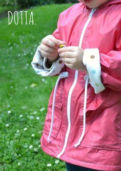 Pattern Tour: Spring Showers Jacket by Elegance & Elephants