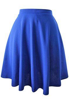 Short Flared Skater Skirt