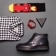 Идеальному образу - идеальная обувь! #взуття #мужскаяобувь