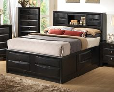queen size storage beds | Double click on above image to view full picture