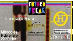 Miércoles, 9 de enero: Oscar Hauyon + Muzta. Invitada especial: Paula Barouh. ÁTICO BAR.- $1500.-