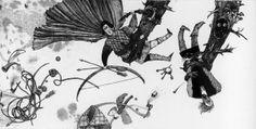 How Vasil defated a Dragon by Katerina Dubovik, via Behance