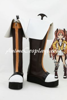 Black Bullet Aihara Enju Cosplay Shoes Boots Custom made Hand made,Black Bullet Cosplay Boots,cosplay platform boots  http://www.animecosplays.com/p-black-bullet-aihara-enju-cosplay-shoes-boots-custom-made-hand-made-2193