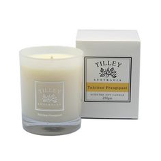 Tilley Tahitian Frangipani Scented Soy Candle