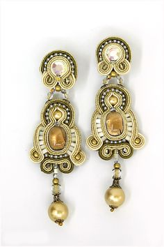 New York : New York - Dori Csengeri - Hand Embroidered Jewelry - Haute Couture Designer Jewellery