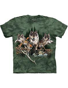 Kids The Lone Wolf O-Neck T Shirts for Fashion Children Boys Girls Long Sleeve Tee Shirt
