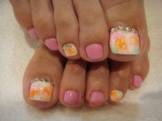 Diseños para las uñas de los pies