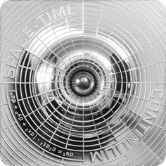 2 Dollar Silber Raum-Zeit-Kontinuum PL