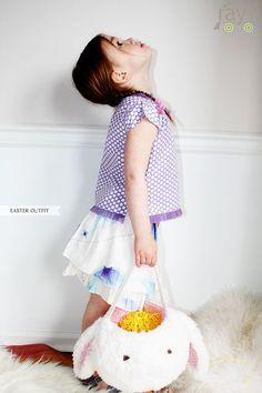 Rayil Ambrosia Skirt and Wrap Top:  www.rayilkids.com