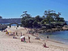 Balmoral Beach, the island where John proposed to Erin.