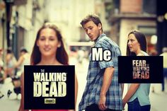 < OH HECK YEAH, THE WALKING DEAD IS SO MUCH BETTER THAN THE WALKING DEAD, IN MY OPINION >