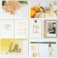 Project Life: Fall 2014 by stephaniebryan at Project Life Scrapbook, Project Life Album, Project Life Layouts, Photo Projects, Crafty Projects, Art Projects, Pocket Scrapbooking, Scrapbooking Layouts, Scrapbook Photos