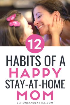 Stay-at-home mom survival guide: 12 habits of a happy and organized stay-at-home mom How to be an organized stay-at-home mom. Learn how to enjoy being a stay-at-home mom. Tips to keep you happy, healthy, and organized. Parenting Books, Gentle Parenting, Parenting Advice, Kids And Parenting, Peaceful Parenting, Stay At Home Mom Quotes, All About Mom, Dad Advice, Mom Schedule