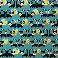 Hurmuri by Leena Renko Print Fabrics, Prints, Printing On Fabric, Print Design, Print Patterns, Hello Kitty, Kids Outfits, Snoopy, Cool Stuff