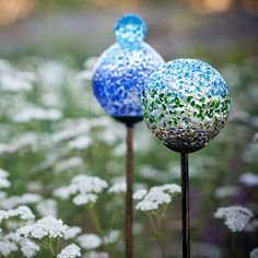 Recycled Glass Garden Stake 6 Pk now featured on Fab.