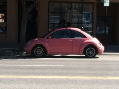 I NEED a pink slugbug :)