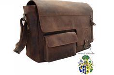 Shoulder bag  Messenger bag VOLTAIRE made of by Ledertaschenshop24