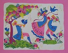 the color, whimsy and movement are spectacular in this piece  spring peter hunt