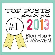 www.thecraftingchicks.com Top Posts of 2013 Blog Hop