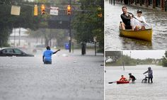 10/03/2015 - Rains not seen for 200 YEARS: Two dead, 22 million on flood watch and New Jersey homes already consumed by high tides in bombardment of weekend storms dubbed a 'slow-motion disaster'