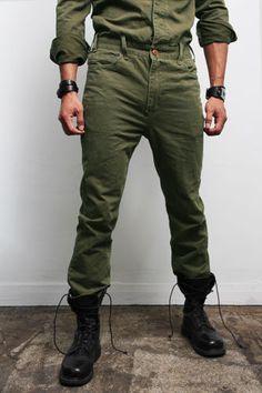 Israeli Army Military Combat Olive Green Trouser Belt g.s Idf