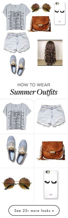 """Summer outfit, for chilling and hanging out with friends."" by fashiongirldaily on Polyvore featuring Keds, Rianna Phillips and Gabriella Rocha"