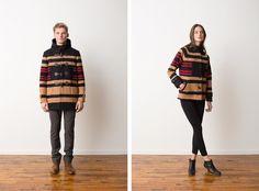 The Portland Collection Pendleton Fall 2013 men's women's jackets outerwear