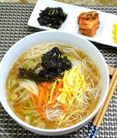 Korean Food, Japchae, Ramen, Noodles, Cooking, Ethnic Recipes, Food, Kitchens, Macaroni
