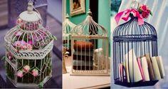 32 idées de décorations originales à réaliser avec des cages à oiseaux