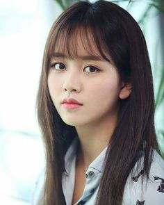 New hair styles korean bangs ideas Bangs For Round Face, Long Hair With Bangs, Haircuts With Bangs, Hair Bangs, See Through Bangs Round Face, Korean Haircut Round Faces, See Through Bangs Korean, Bangs Updo, Afro Hair