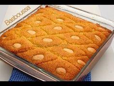 Recette de Basboussa-Ramadan Special/Basboussa Recipe-Sousoukitchen