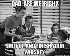 Irish humor @Amber Bader