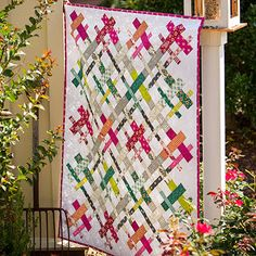 Cut Loose Free Quilt Pattern