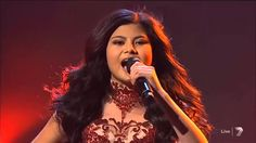 "Marlisa Punzalan - ""Girl On Fire"" Live Semi Finals - The X Factor Austra..."