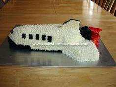 Homemade Space Shuttle Birthday Cakes