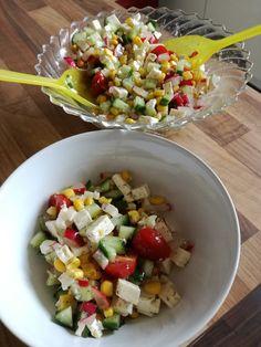 Griechischer Maissalat