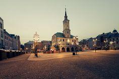 Gliwice, świąteczny rynek