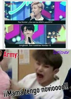Read from the story MEMES DE BTS 2 by Ktxebae (𝐮𝐰𝐮) with reads. Lee Jong Suk, Kpop Memes, Funny Memes, Funny Pics, Bts Jungkook, Taehyung, Jikook, K Pop, Monsta X