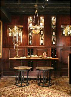 Classic Traditional Bar by Nancy Leffler- Mikulich